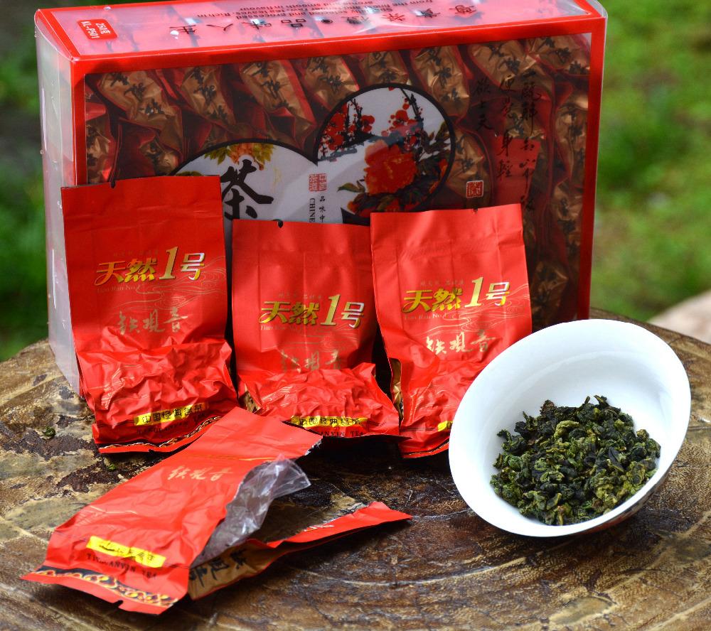 Supravalue 250g Tikuanyin oolong tea with high aroma , Anxi tieguanyin kungfu tea small bags vacuum packing free shipping(China (Mainland))