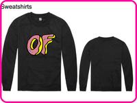 Stock Brand Odd Future High Quality Cheap Fashion Black Color 100%Cotton Men's Clothes Coat Jacket Odd Future Sweatshirt-003