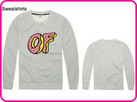 Stock Brand Odd Future Hot Sale New Arrival Man Women Long Sleeve Cardigans Coat Gray Color Odd Future Sweatshirt-002
