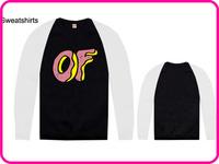 Stock Brand Odd Future Cheap High Quality Odd Future Man Woman OF Letter Print Sweatshirt-001