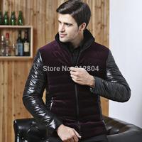 Best Sale 2014 Hot Sale Warm Men's Urban Fashion Men Jacket Thicker Winter Parka Brand Casual Outdoor Coat Free Shipping M-XXL