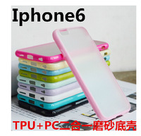 1PCS Transparent Case For iPhone 6 4.7 inch Jelly Candy Color Silicone Sleeve Covers for iPhone6 Mobile phone bags 10colors