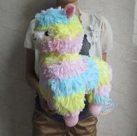 "Japan Amuse Arpakasso Alpacasso Alpaca Plush Doll multicolour 14"""