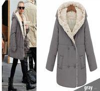 Hot 2015 Winter Coat Women Parka Faux Fur Lining Warming Cotton Coat Winter Jacket  Women Hoodies casual Outwear Free Shipping