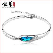 Glass slipper bracelet crystal bracelet bracelet Korean Fashion Jewelry Hot(China (Mainland))