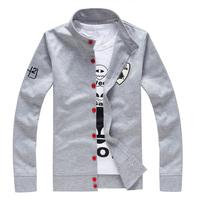 New 2014 brand cashmere cardigan hip hop hoodies men jacket fashion sweatshirt Leisure jacket men's autumn outerwear coat