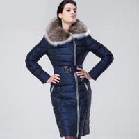 Down Coat Women Long Parkas Plus size 8XL Assymetric Zipper Down Jackets Slim Winter Jacket Women Fur Coats outerwear & Coats
