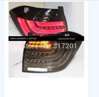 Free shipping!2012~2014 TOYOTA Highlander LED taillight,2pcs/set(1pcs Left+1pcs Right),black color,35W 12V,super good quality!,