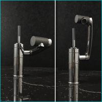Rotation Spouting Bathroom Sink Basin Faucet Hot Cold Mixer Deck Mounted Single Hole Water Tap torneira para banheiro torneiras