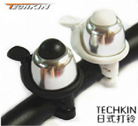 20651 TECHKIN high-end bicycle bell bicycle bell ringing non-rotating copper superior aluminum metal bells