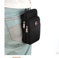 The movement of mobile phone bag worn belt 5-6 inch mobile phone pocket male leisure bag bag purse