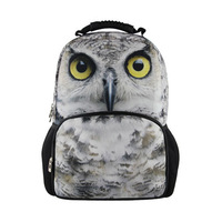 Fashion Cartoon OWL Outdoor Travel Bag Leisure Backpack School Bag for Kids Christmas Gift