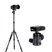 Studio Portable SLR Bracket Dedicated Tripod Camera Aluminum Stand Universal [WZ597]