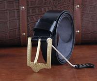 Solid Brass Buckle Genuine Leather Brand Men Medusa Belt Luxury Designer belts For Men Strap Cinto Masculino Ceinture MBT0226