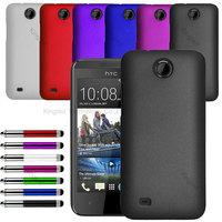 Hybrid Hard Back Case Cover For HTC Desire 300