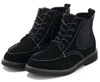 genuine leather platform women martin ankle boots motorcycle women boots 2014