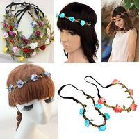 wholesale  mixed 15pcs/lot   FLOWER headband-Crown headband-BOHO HIPPY Headband-Floral Hair Band-Vintage Rose