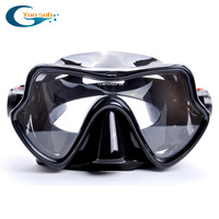 swimming  Shipping  Diving Equipment Dive Masks Black  metal  frame auto buckle