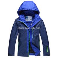 Wohai Sen (WHS) 2014 Spring new men and women couple outdoor waterproof breathable jacket windbreaker 3645213