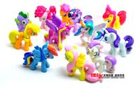 Super Special 12pcs/set Foreign trade Genuine MLP dolls 12 protagonists Twilight Sparkle Princess Luna Princess Cadance