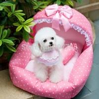 Princess Fashion Pet Bed Dog Sofa