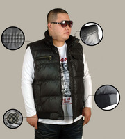Free shipping plus size 8XL 9XL 10XL 11XL 12XL tops Autumn winter coat top cotton brand military vest thickening mens clothing