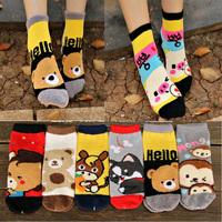 Bfeet new style thick socks for women winter and spring warm socks cartoon cute harajuku socks