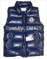 men fashion Winter Warm Man's Down Cotton Vest Fashion Waistcoat men slim casual cotton vest waistcoat