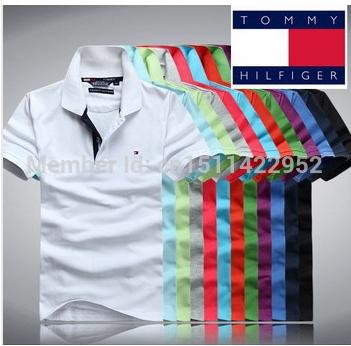 frete grátis novo 2014 tommis marca camisa camisas polo homens camiseta manga curta t- camisas dudalina fitness camisa ocasional(China (Mainland))