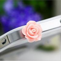 Big Brand Brief Rose Dustproof Plug Crystal Mobile Accessories General Specifications SP092