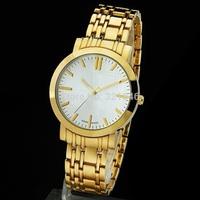 Fashion Clock New 2014 Watches Men Women Luxury Brand Women Dress Casual Watches Full Steel Roman Numerals Gold Watch Hot Sales
