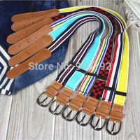 The new Korean version of the multi-colored elastic belt children belts wholesale