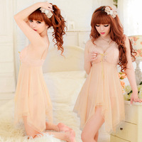 The new sexy women underwear sexy dress 4 colors free size hot lingerie sex sleepwear nigtgown for girl