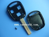 Best quality with good price Lexus 3 button remote key shell TOY 48 blade for lexus rx300