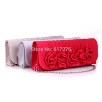 2014 New Women's Handbag Fashion Wedding Dress Purses Shoulder Bags Women Handbag Purses And Handbags Evening Clutch  Red