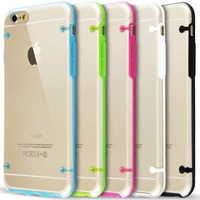 New Ultra Transparent clear TPU Case Cover for iPhone 6 plus 5.5 inch Light Glow Luminous phone case for iphone6 plus