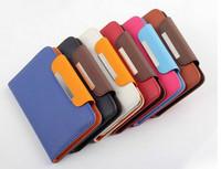 New 5 inch PU Wallet Leather Flip Cover Case for BLU Win HD / Studio 5.0 S II / Studio 5.0 E / Studio 5.0 S /Dash 5.0 Cell Phone