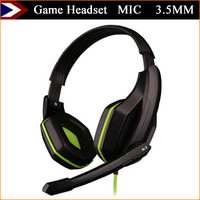 2015 New Game Headset Earphones And Headphones With MIC Earphone Game Headphone 3.5MM For Computer MP3 MP4 Free Shipping