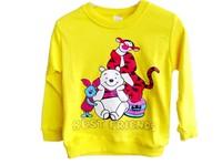 Wholesale New 2014 Children T Shirts, Girls Boys' T-Shirts Kids Long Sleeve Tee Cotton Baby Clothing 4PCS/lot 2~5T Free Shippnig