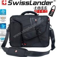 brand SwissLander,Swiss Lander,laptop briefcase,15.6 inch notebook handbag,computer briefcases for macbook 15'', for notebooks