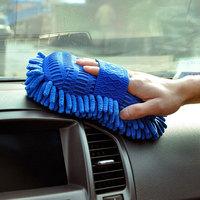 2014 hot sale new ultrafine fiber chenille car wash glove anthozoan Auto washerman cleaning brush  supplies