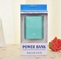 External Battery Pack xiaomi power bank 10400mAh mi 10400 portable powerbank Charger for xiaomi iPhone Samsung HTC100pcs/lot