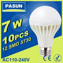 Led Lamp 3W 5W 7W 9W 12W 15W E27 B22 E14 Led Bulb 2835smd Led Light Lamps White Cold Warm White Led Spotlight bulb Free Shipping(China (Mainland))
