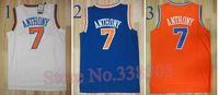 ePacket free&fast shipping 7 kinds New York #7 Carmelo Anthony jersey basketball jersey New Mateial mesh or rev 30 Jerseys