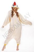 1pc Chicken bird costume for adult cartoon pajamas Animal Sleepcoat Sleepwear anime cosplay