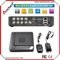 ANCHEN  H.264 HDMI Security System CCTV DVR Recorder 8 Channel Mini DVR Digital Video Recorder DVR Mobile phone view security