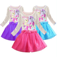2014 Brand Kids Baby Girls Princess dress Frozen Dress Elsa's and Anna's girl dresses, girl print dress, girl party dress.