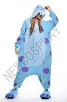 New Pajamas Cosplay Costumes Animal Sulley monsters Onesies Pyjamas Adult Onesie Christmas Party Dress