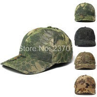 Hot Sale 2014 Mens & Womens Military Outdoors Baseball Caps Tactical Boa Grain Bionic Camouflage Sun Hat