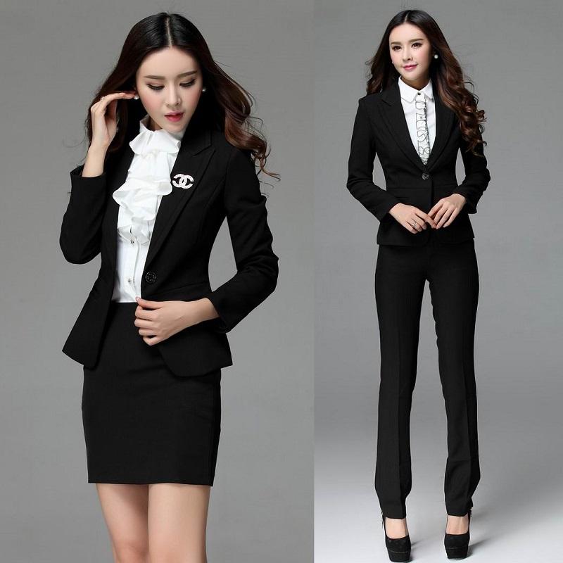 Compra la oficina de las se oras traje de desgaste online Diseno de uniformes para oficina 2017